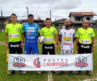 Arbitragem Final da Segundona Postes Laurindo 2019